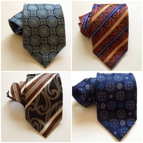 4 NECKTIES FOR $100